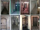 Изготовление решетчатых дверей и перегородок в Киеве. - photo 1