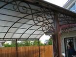 Изготовление решеток, ворот, калиток, оградок - фото 4