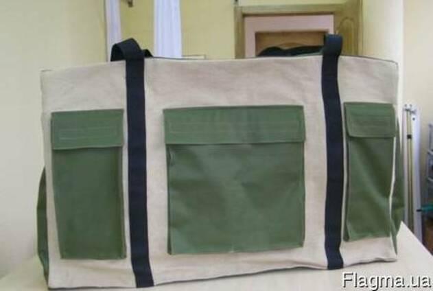 Изготовление сумок, чехлов из брезентовых и тентовых тканей