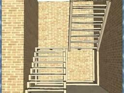 Изготовление сварных лестниц. Крылечные площадки. Крыльцо