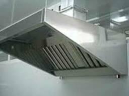 Изготовление вентиляционных зонтов из нерж-ки (вытяжки)