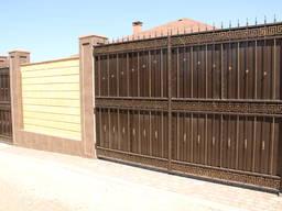 Изготовление ворот откатных и распашных в Севастополе
