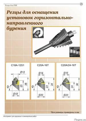 Изготовляем резцы(зубья) для ГНБ