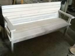 Изготовляем садовую мебель