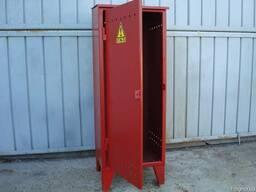 Изготовлю шкаф металлический для 1- или 2х газовых баллонов