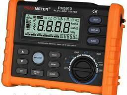 Измеритель сопротивления петли фаза-ноль Peakmeter PM5910