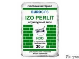 Изогипс Экогипс (30 кг) - шпаклевка стартовая гипсовая