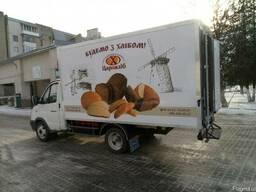 Изотермический фургон для перевозки Доставка по Украине,СНГ