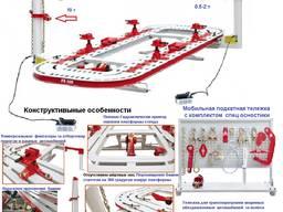 J-200 Cтенд для рихтовки кузовов платформа 5, 6*2, 1м 2 башни