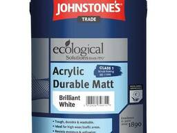 Johnstone Acrylic Durable 10 л. краска из Великобритани