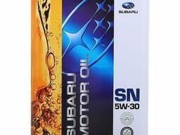 K0215Y0273 Моторное масло Subaru Motor Oil SN SAE 5W-30, 4л