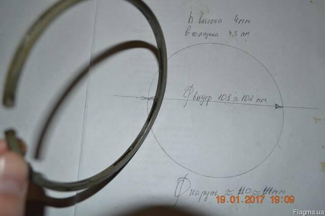 К2.03.21.03 Кольцо маслосъёмное II ступени компрессора Крым