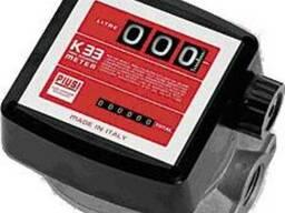 Расходомеры-счетчики топлива К33 для АЗС