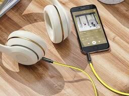 Кабель 3,5 на 3,5 HOCO UPA16 mini jack 3,5 mm AUX audio cable  2M . White