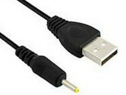 Кабель для планшета 0,7м USB=> 2.5/0.7 Black, Пакет Q200