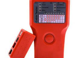 Кабельный тестер Merlion мультифункциональный 5 в 1 RJ-11/RJ-45/BNC/USB/1394