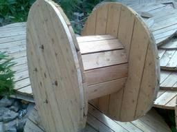 Кабельные и канатные барабаны (комплекты), деревянные