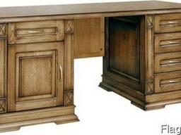 Кабинетный стол из натурального дерева ПС-18