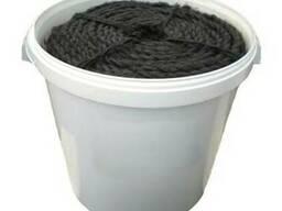 Каболка канализационная д.6-8,10-12,14-16,18-20мм (в ведрах)