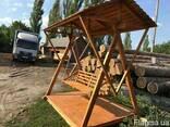 Качель деревянная - фото 3