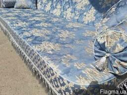 Качель садовая Spring-Swing Barokko Blue-Silver