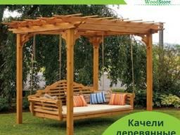 Качели кровать из натурального дерева от производителя, Одес