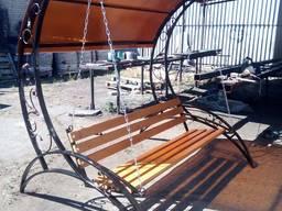 Качели-лавочка под заказ 19800