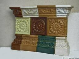 Кафель - керамическая плитка для отделки каминов и печей