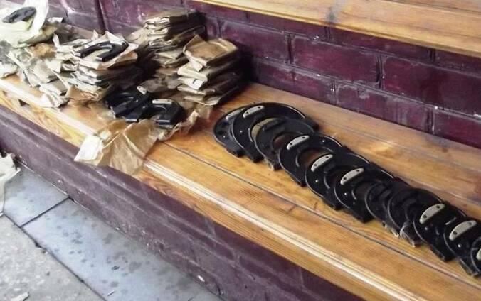 Калибр скоба, скобы мерительные 82 размера