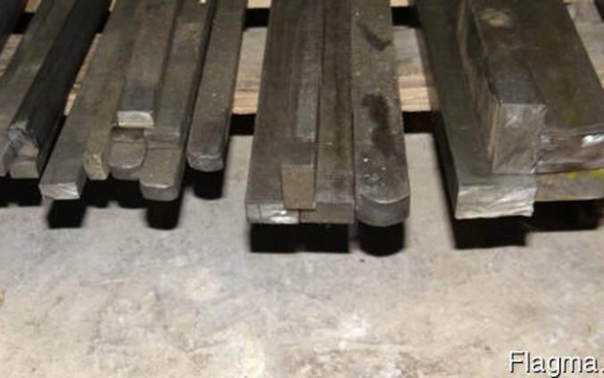 Шпоночная сталь 5х5 ст.45, калиброванная шпонка купить, шпоночный материал купить,
