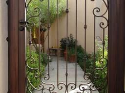 Калитка во двор, калитка для ворот, калитка для распашных ворот