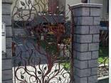Калитки кованые, сварные, решетчатые - фото 6