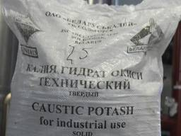 Калій їдкий (Гідроксид Калію) 95% мішок 25кг