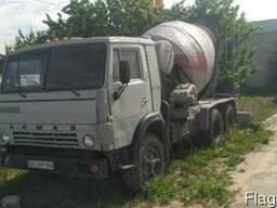 КАМАЗ СБ-92В2 (бетонозмішувач, міксер)
