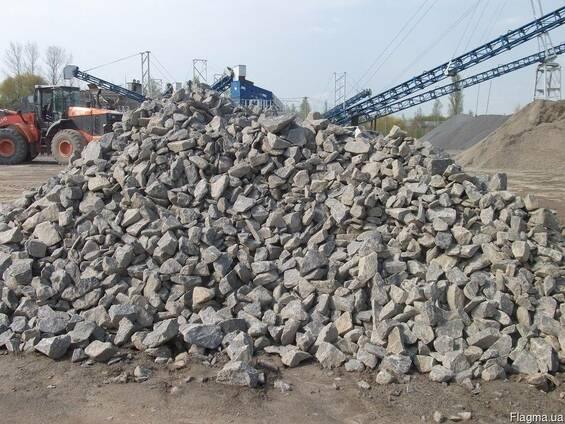 Бутовый камень 150*300, 150 на 300мм.