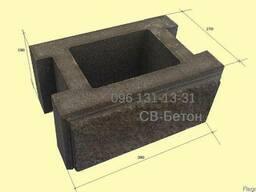 Камень для столба от производителя, шлакоблок Одесса