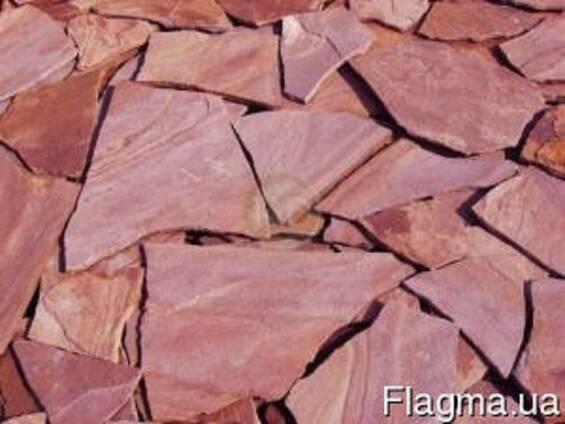 Камень песчаник красный