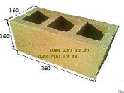 Камень, шлакоблок по оптовой цене от производителя