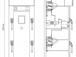 Камеры КСО серии-399, Шинные мосты ШМР, ШМ