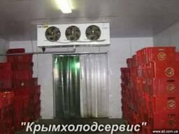 Камеры морозильные заморозки и хранения рыбы.