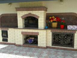 Камин и барбекю для дома и сада ALMA Mramor
