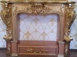 Камин из гипса, декоративный портал. Портал камина М31