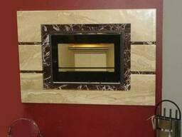 Камин из мрамора портал каминный мраморный камин - фото 2