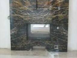 Камин мраморный Golden Black