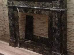 Камины из мрамора
