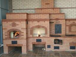 Камины, печи, барбекю. Строительство печей, реконструкция.