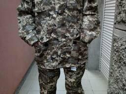 Камуфлированный костюм Пиксель для охранников