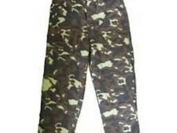 Камуфляжные брюки ватные, камуфляжная одежда, утепленные брюк