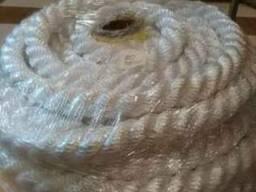 Канат буксировочный капроновый (полиамидный) 30мм