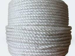 Канат капроновый плетеный, диаметр 10 мм, 100 м